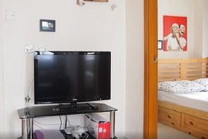 香港九龙城区香港柯士甸地铁附近两房六人公寓