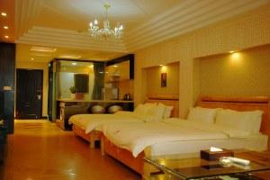 广州花都花都馨领寓酒店公寓豪华双床房(共9套)