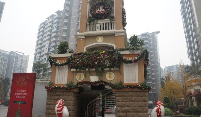 成都武侯区鹭岛路36号鹭岛国际社区四期5栋酒店式公寓