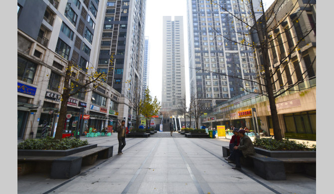 重庆南岸区南坪步行街门面租金大概为多少-重庆步行