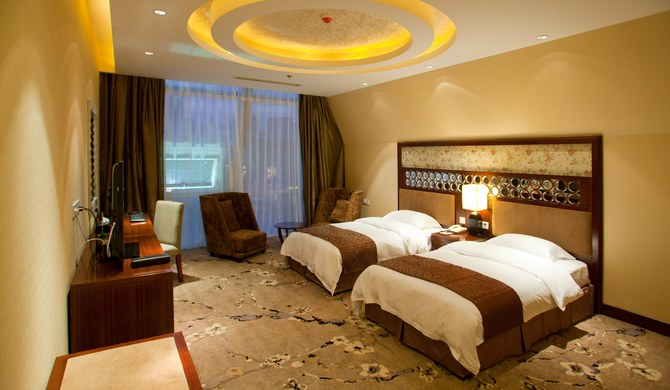 青岛昆仑和悦度假酒店豪华双床房