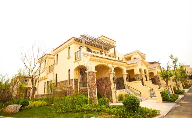 五层独栋别墅外观设计 欧式风格别墅外观设计效