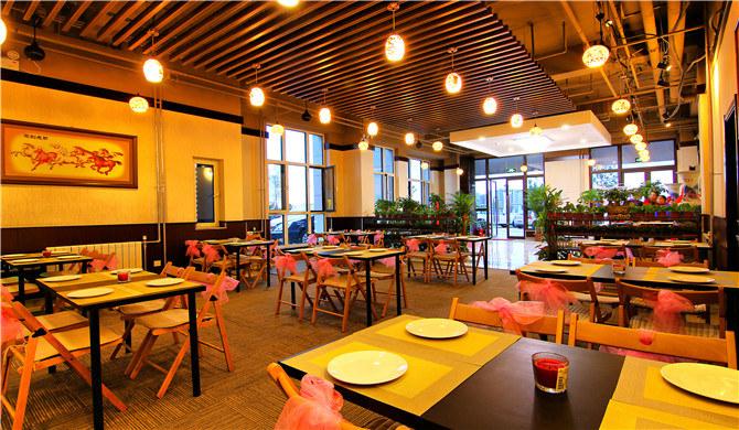 北京顺义区北京途家机场新国展商务间-德式餐厅图片