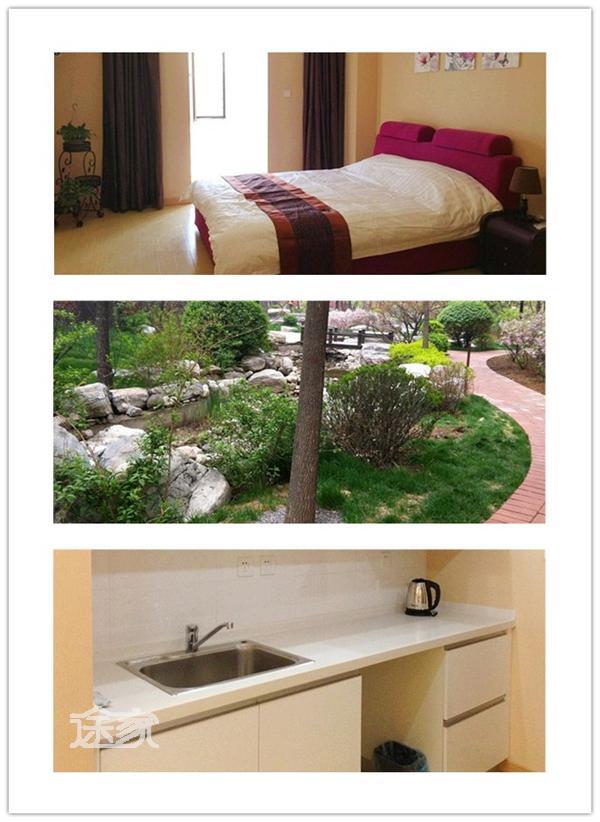 太原紫台酒店式公寓大床房