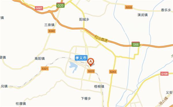 碛口古镇地图