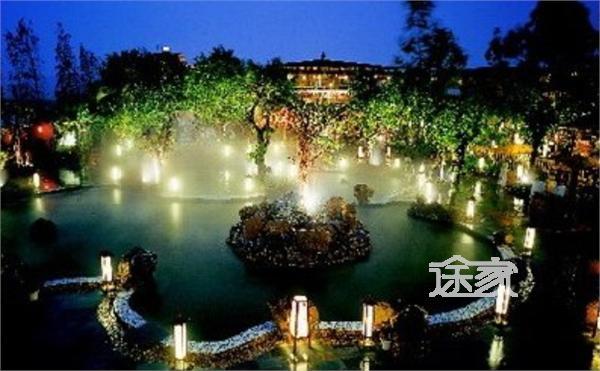 珠海御温泉夜景