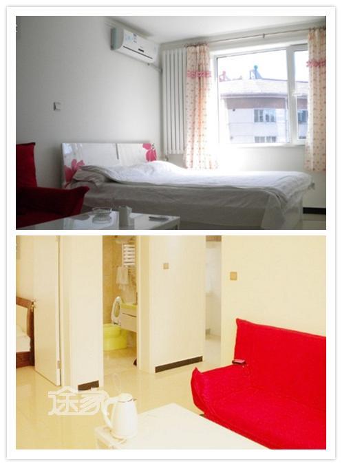 承德心语日租公寓三人大床房