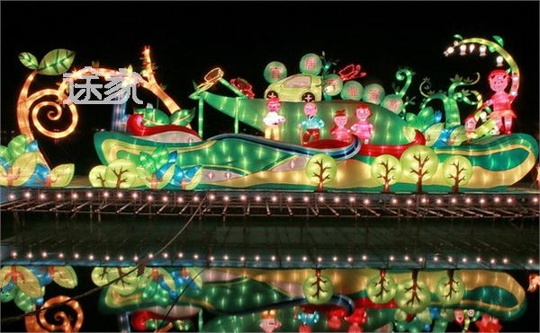 惠州西湖花灯博览会